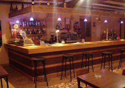 Bar salon barra