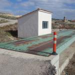 Bascula municipal obras vista