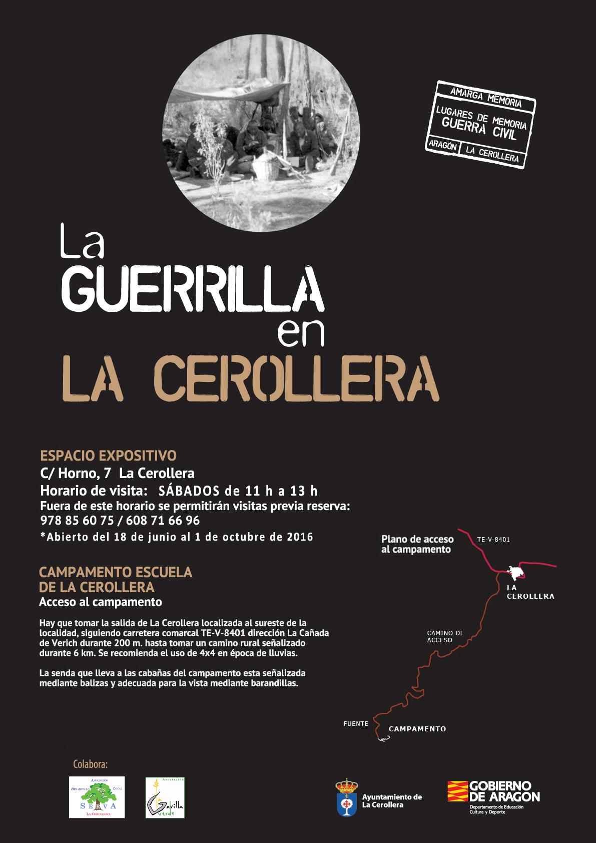 Logotipo La Guerrilla en La Cerollera
