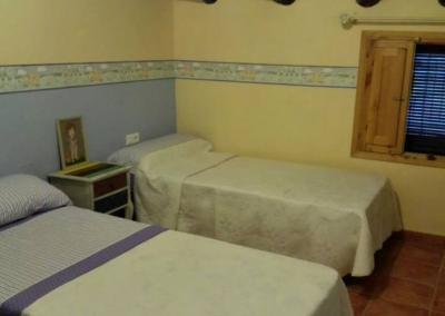 Casa val de luna dormitorio dos camas