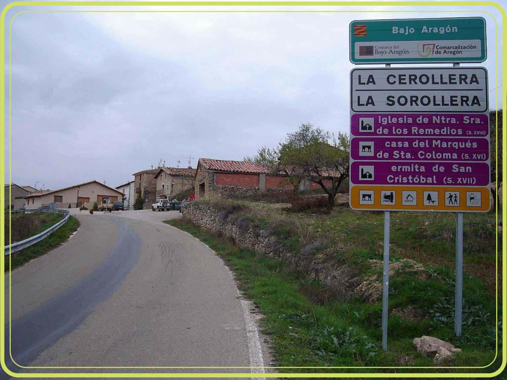 Cartel de La Cerollera