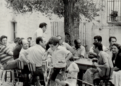 Fiestas 1980-82 terraza