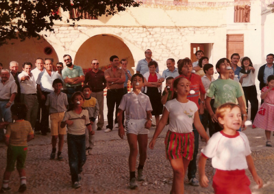 Fiestas 1983-84 juego infantil