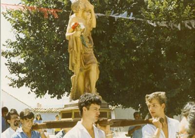 Fiestas 1986 procesion