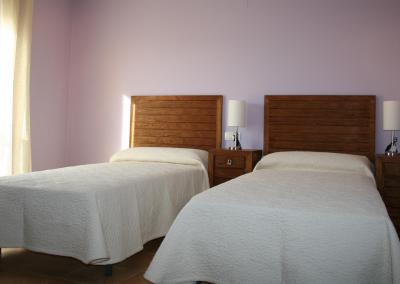 Habitacion san cristobol camas