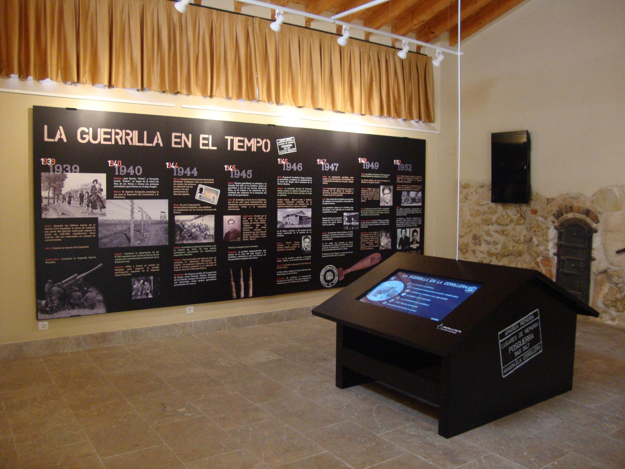 Interior museo La Guerrilla