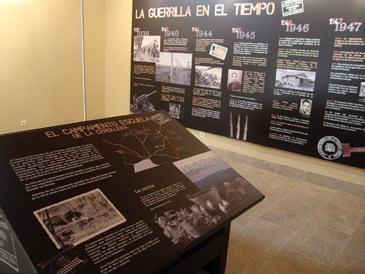 Panel explicativo Museo de la Guerrilla