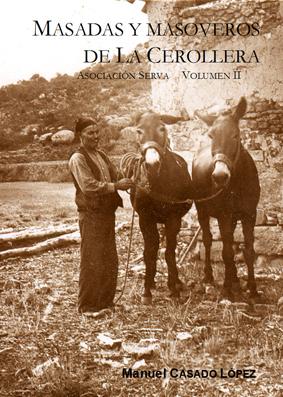 """Libro """"Masadas y masoveros de la Cerollera vol II"""""""