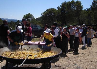 Romeria al santet 2006 paella
