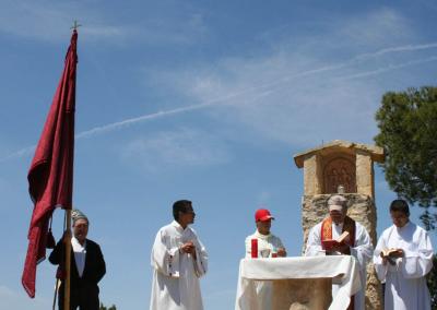 Romeria al santet 2008 misa