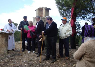 Romeria al santet 2011 misa