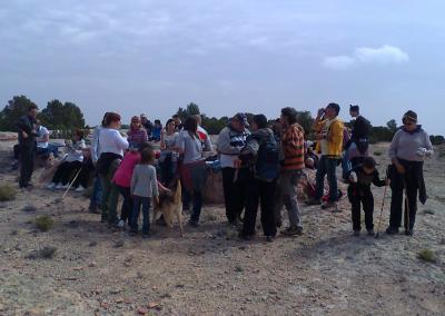 Romeria al santet 2012 almuerzo