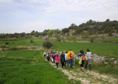 Romeria al santet 2012 caminantes