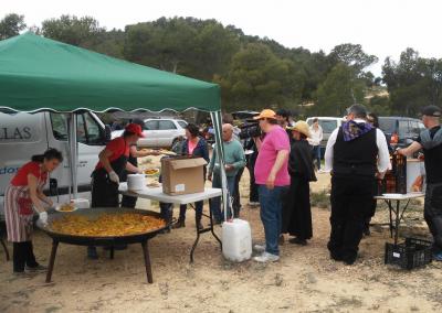 Romeria al santet 2015 paella