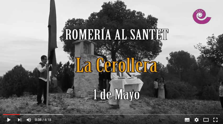Romeria al santet 2015 video de la Comarca TV