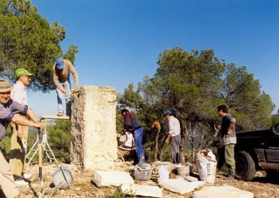 Romeria al santet restauracion
