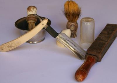 Útiles de afeitar