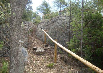 Zona rocas Escuela maqui