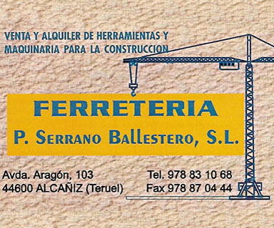 Logo Ferreteria Serrano