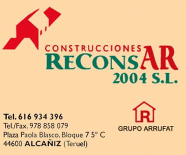 Logo Construcciones Reconsar