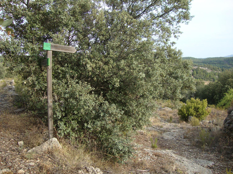 Inicio senda Font de Dalt