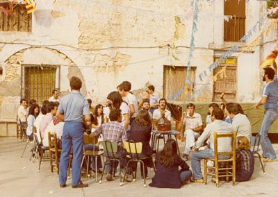 Fiestas 1980-82 corro