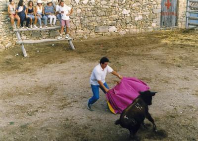 Fiestas 1992 a 1994 vaquillas