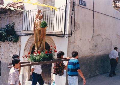Fiestas 1992 a1994 procesion