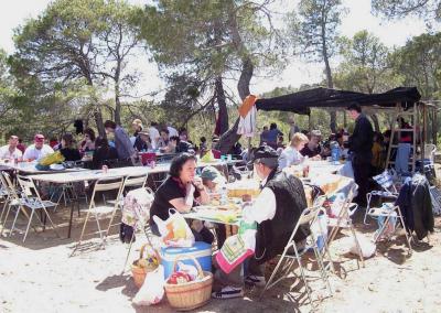 Romeria al santet 2006 comida