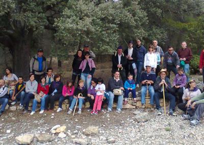 Romeria al santet 2012 grupo