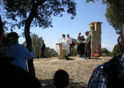 Romeria al santet 2012 misa