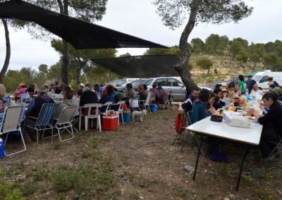 Romeria al santet 2015 comida