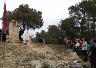 Romeria al santet 2015 misa