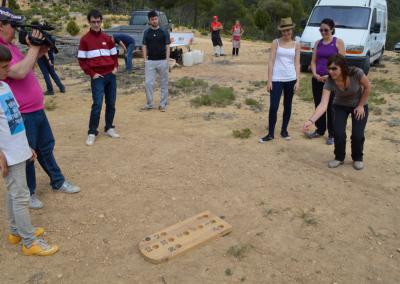 Romeria al santet juego popular